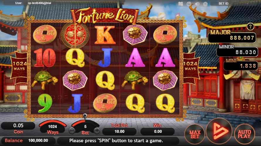 สล็อตออนไลน์ Sa Gaming  เกม Fortune Lion