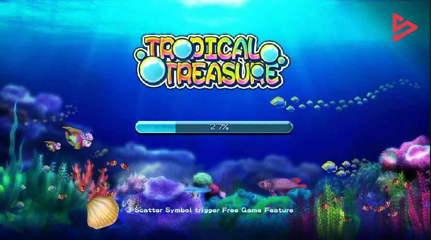 สล็อตออนไลน์ Sa Gaming  เกม Tropical Treasure