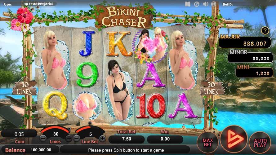 สล็อตออนไลน์ Sa Gaming  เกม Bikini Chaser