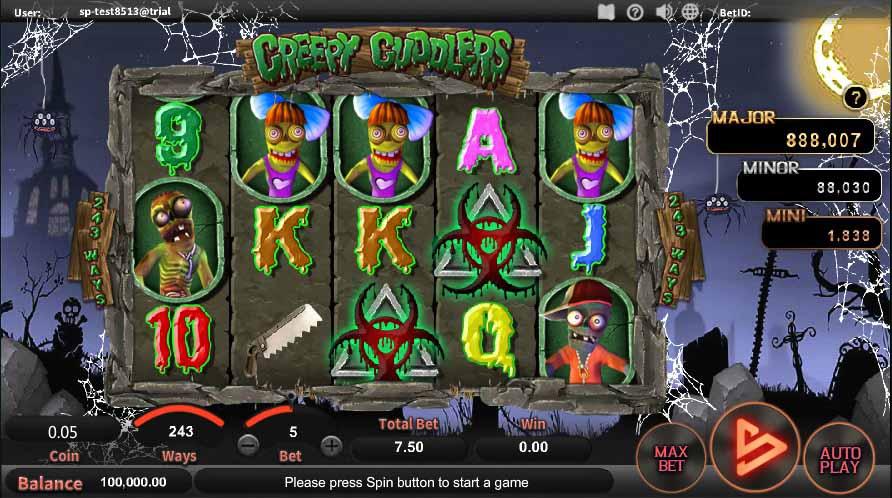 สล็อตออนไลน์ Sa Gaming  เกม Creepy Cuddlers