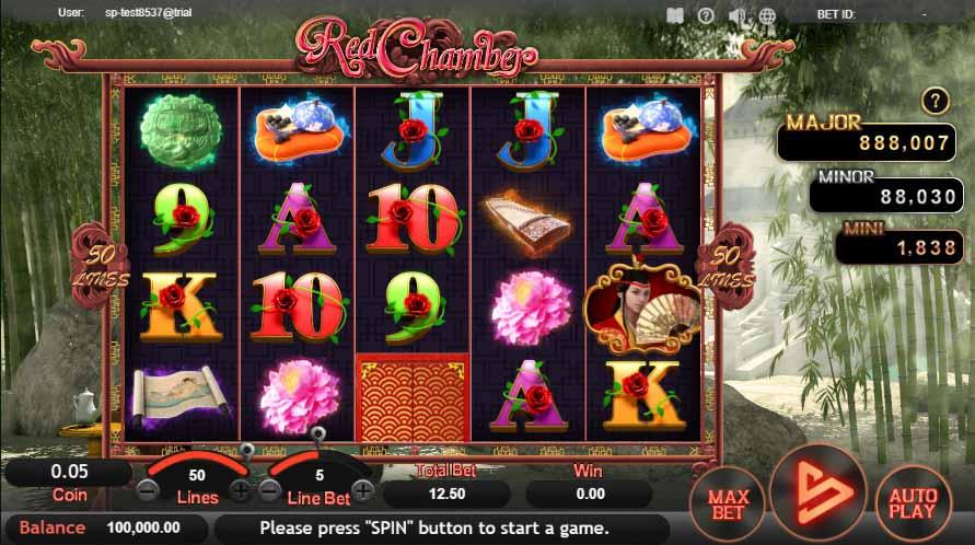 สล็อตออนไลน์ Sa Gaming  เกม Red Chamber