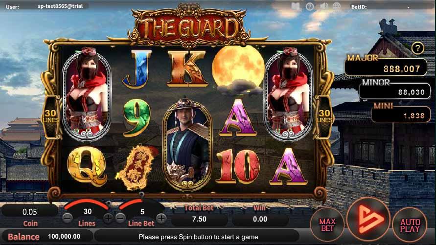 สล็อตออนไลน์ Sa Gaming  เกม The Guard
