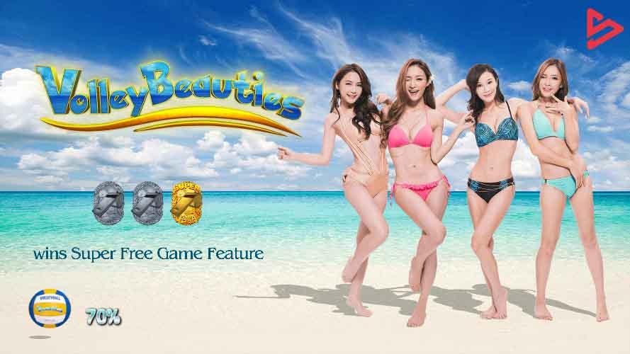 สล็อตออนไลน์ Sa Gaming  เกม Volley Beauties