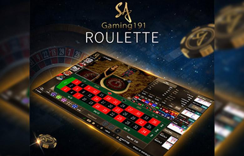 เกมไพ่รูเล็ต Roulette คาสิโนสด sa gaming