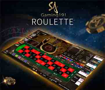 เกมไพ่รูเล็ต Roulette คาสิโนสด