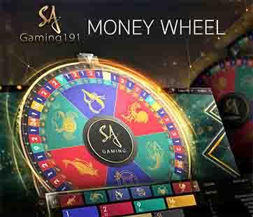 เกมล้อมหาโชค Money wheel คาสิโนสด
